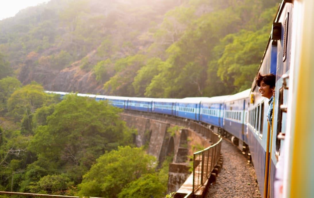 Train to Goa, India