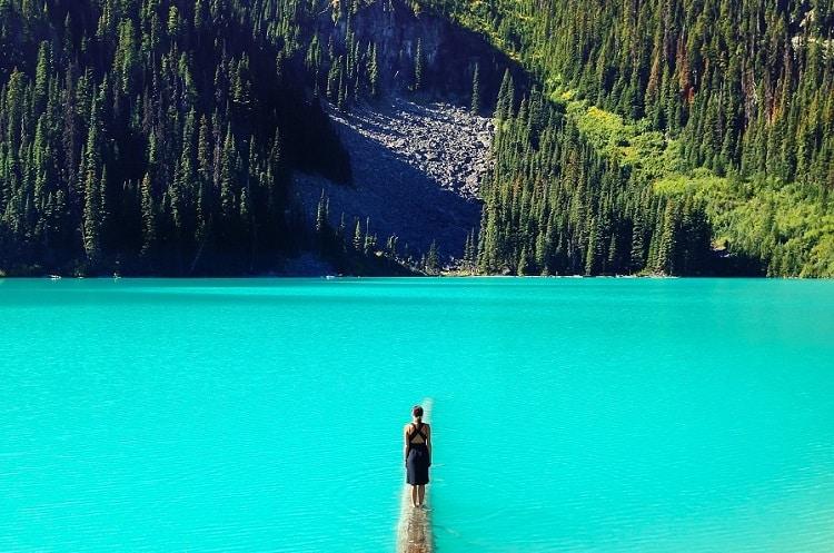 Joffre Lakes Trail, Canada