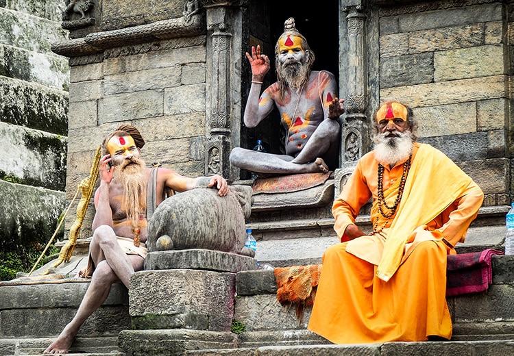 Hindu Mask Ritual